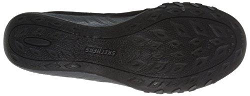 Skechers Sport Five Star Fashion Sneaker Black Mesh/Charcoal Trim