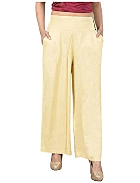 Indian Handicrfats Export Sweekash Regular Fit Women Beige Trousers