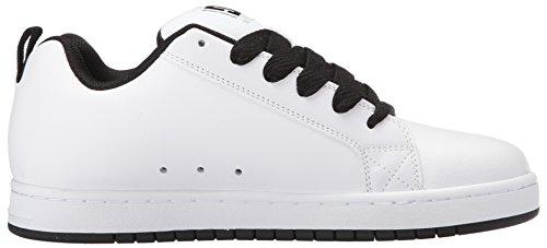 Corte Dc Gris Graffik Blanco Skate Shoes Hombre De Zapatillas P5rFP6Zq