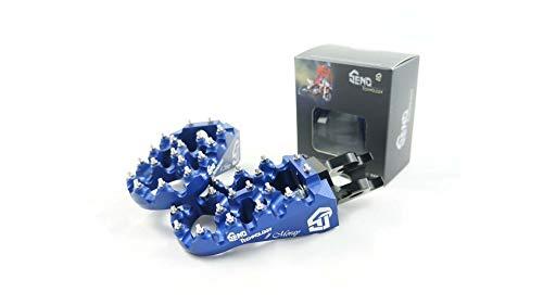 Fussrasten #Moray, blau, höhenverstellbar, YZ 125 250 96-, YZ 250F 450F 01-, YZ 85 02-, WR 250/450 01-, YZF Yamaha
