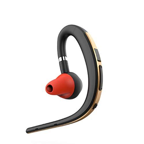 bluetooth kopfhorer kabellos Drahtlose Bluetooth Sport Stereo Headset Kopfhörer Kopfhörer Handfree Smartphone (Gold)