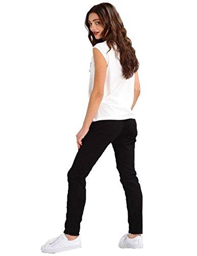 T- Shirt Weiss Linda Pepe Jeans Weiß