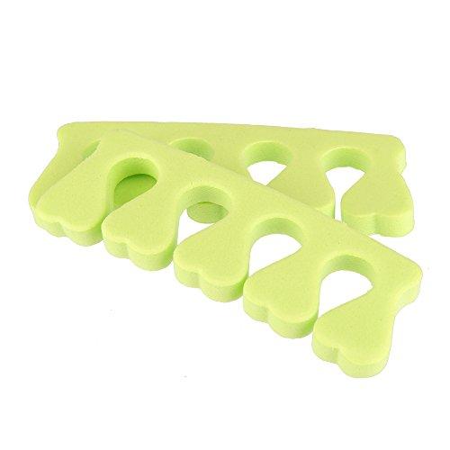 Beauty7 Nail Art 10 PCS Séparateurs d'orteils Séparer Doigts Ongle Pied Éponge Caoutchouc Mousse Manucure Pédicure