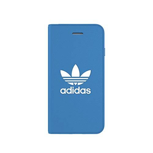 adidas Originals Booklet Case Basic for iPhone 6/6S/7/8 Bluebird/White - Iphone Blau 6 Otterbox-fälle