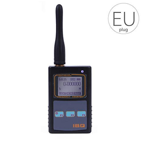 Cdrox IBQ102 10Hz-2.6GHz Zweiwege-Funkfrequenzmesser Ersatz für Baofeng/Yaesu/Kenwood Frequenzzähler Detektor Radio