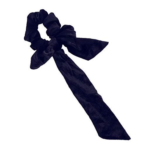 BfmyxgsBand-Bogen-Haar-Ring-Samt-Fliege-Damen-Haarband-Kopf-Haar-Band-Stirnband Vorzügliches Mädchen-süßes Haar (70er-jahre-make-up Und Haare)