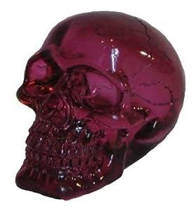 Katerina Prestige Figura de Calavera Transparente Violeta 7 cm