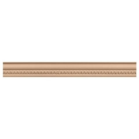 Ekena Millwork MLD03X03X05LAMA 3 5/8-Inch H x 3 1/2-Inch P x 5-Inch F x 96-Inch L Lanarkshire Carved Wood Crown Moulding, Maple by Ekena Millwork