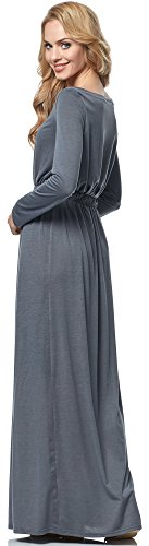 Merry Style Robe pour Femme MSSE0005 Graphite