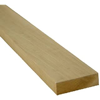 Alexandria Moulding 0Q1x3-27048C 1X3x4 Poplar Board Poplar Boards