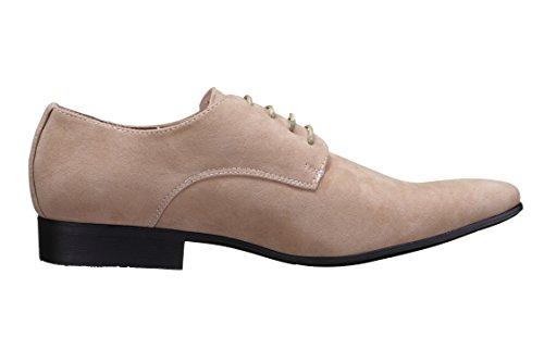 Galax - Chaussure Derbies Gh2019-c Beige Beige