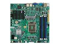 Supermicro MBD-X9SCM-O Sockel 1155 Mainboard (PCI-e, micro ATX, Intel Core i3, DDR3 Speicher, SATA III, USB 2.0)