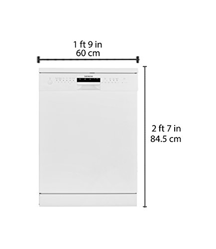 Siemens Free-Standing 12 Place Settings Dishwasher (SN26L201IN, White)