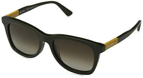 Etro et632s 317 53, occhiali da sole unisex-adulto, verde (green/ochre)