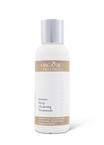 Nettoyant visage & corps de luxe | Gel douche bio | Pour Eczema, Psoriasis, Acne | 120 ml