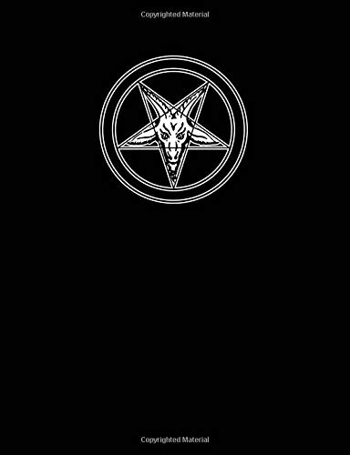 Baphomet Notebook: Blank Lined Journal for Magick or Daily Writing por Divination Journals