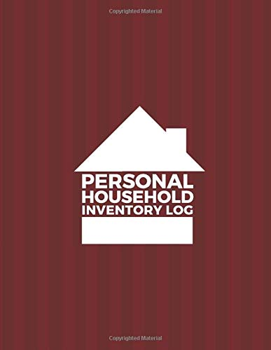 Personal Household Inventory Log: List Items & Contents for Insurance Claim Purposes, Home Organizer Logbook Journal, Record Household Property, ... 110 Pages. (Home Property Organizer, Band 42) Bluetooth Personal Air