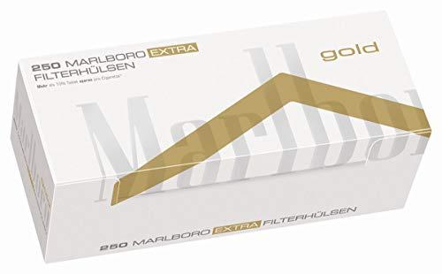 1000 Marlboro® Gold Extra Filterhülsen