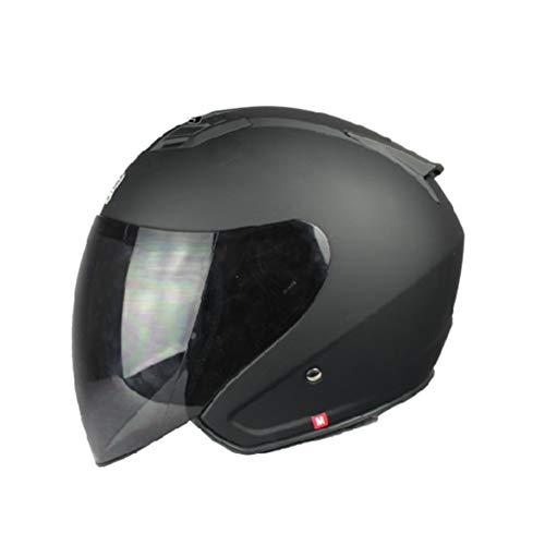 Männer Frauen Motorrad Fahrrad Jethelm Anti Fog Objektiv Outdoor Elektrische Motorrad Helm Leichte Komfort Radfahren Sicherheitskappen Jahreszeiten Universal - Fahrrad Mohawk Helm