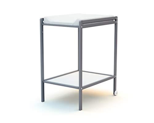 Ateliers T4 - Table à langer ESSENTIEL 1 étagère Gris