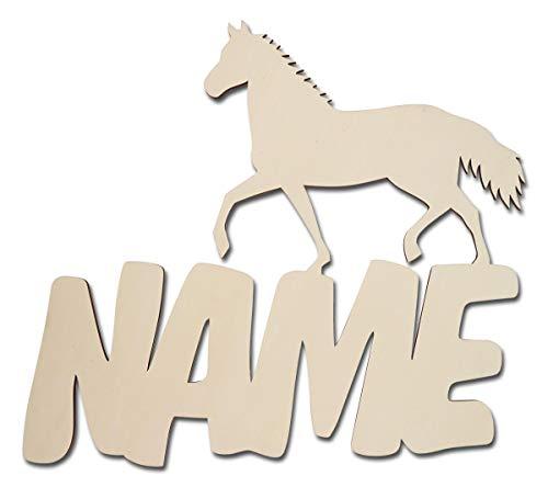Led Wand-Deko Pferd Pferde-Lampe mit Name-n Datum Baby-Geschenke für das Mädchen Neugeborene Babys Eltern Kinder-Zimmer-Lampe Geburtsgeschenke Taufgeschenke Geburt Taufe