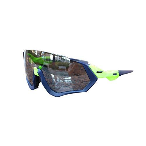 FELICIOO Outdoor-Sportbrillen, Motorrad-Schutzbrillen (Farbe : A)