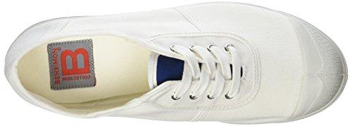 Bensimon Damen Plain Old School Sportschuhe, Niedrig Weiß (Weiß)