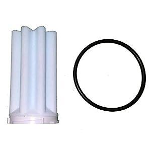 Afriso Siku Filtereinsatz mit O-Ring, 1er Heizölfilter Set Filter 50-75 µm