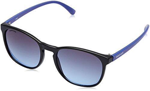 Fastrack Gradient Goggle Men's Sunglasses - (P377BU3|58|Blue Color) image