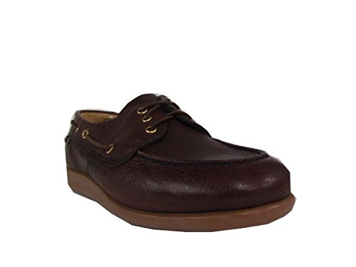 Sebago Gary Jobson Leather Tumbled, Mocassini Uomo Brown