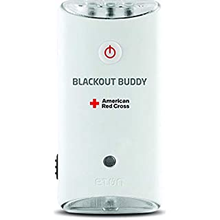 The American Red Cross Blackout Buddy the emergency LED flashlight, blackout alert and nightlight, ARCBB200W-SNG