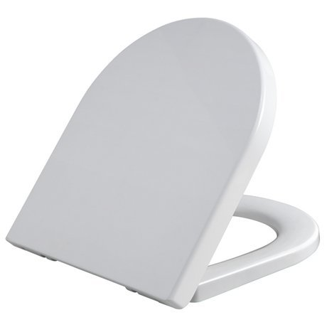 Infinity D Shape Soft Close Toilet Seat With Top Fix
