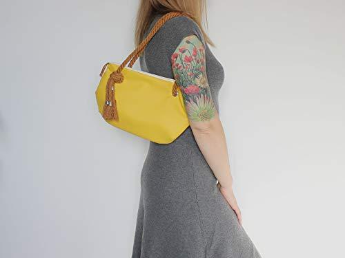 Gelbe Handtasche - 2