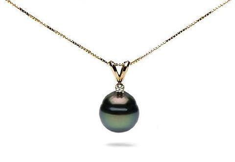 Pearl Paradise Femmes de 14K–Collier Femme–Perle de Tahiti