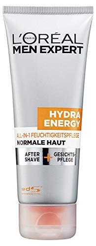 L\'Oreal Men Expert Hydra Energy All-in-1 Feuchtigkeitspflege, kombiniert After Shave und Gesichtspflege und sorgt für 24 H Feuchtigkeit, 75 ml