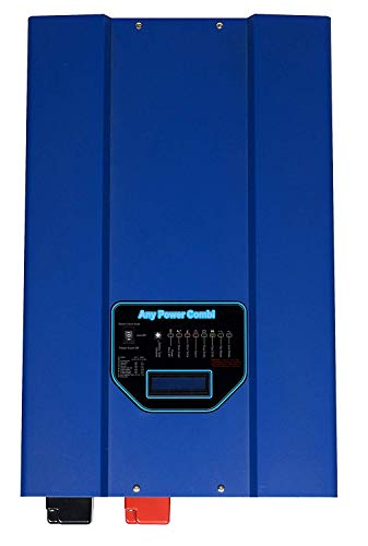 Sungoldpower 3000 W Spitze, 9000 W Niederfrequenz, SP Reiner Sinuswellen-Inverter, 90 A Batterieladegerät, Solar-Wandler, DC 12 V AC 230 V Wechselstrom, Prioritätsschalter LCD Niederfrequenz-wandler