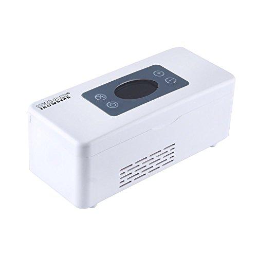 Refrigerador de la medicina y el refrigerador de la insulina con el sistema avanzado del control de la temperatura - caja portable más fresca del refrigerador para el coche, recorrido, hogar por Express Panda