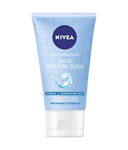 NIVEA Diarios Esenciales Suave Exfoliante 150 ml - Paquete de 3