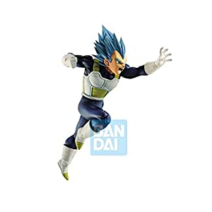 Banpresto-BAN85190 Figura BANDAI Dragon Ball Super Saiyan God Vegeta Z Battle, Multicolor (85190)