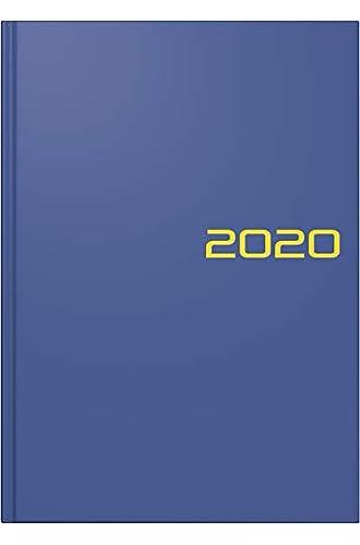 Brunnen Buchkalender 2020, Modell 795 A5 blau: 1 Seite = 1 Tag. Balacron