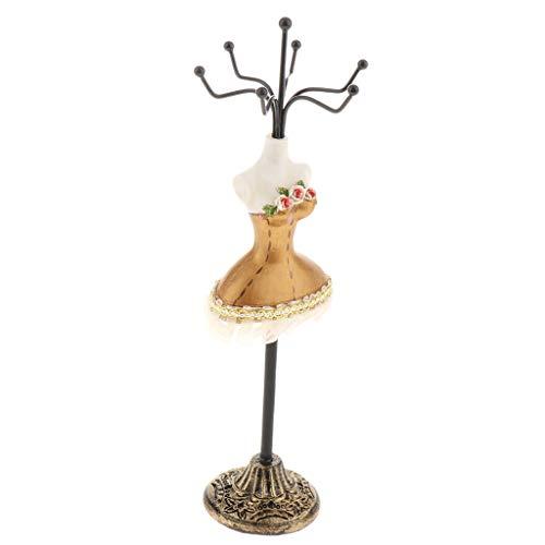 FLAMEER Resin Jewelry Display Mannequin, Stand Rack, Bracelet Ring Earrings Holder