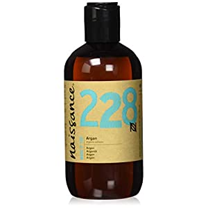 Naissance Aceite Vegetal de Argán de Marruecos n. º 228 – 250ml – Puro, natural, vegano, sin hexano y no OGM…