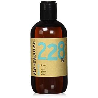 Naissance Aceite Vegetal de Argán de Marruecos n. º 228 – 250ml – Puro, natural, vegano, sin hexano y no OGM – Hidratación natural para el rostro, el cabello, la barba y las cutículas.