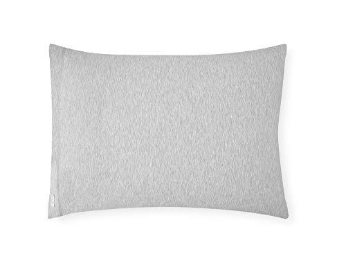Calvin Klein Par de Fundas de Almohada, algodón, Gris Jaspeado., 50 cm x 75 cm