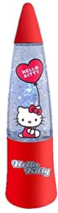 HELLO KITTY - Lampe glitter à Led Rouge