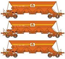 REE Modeles NW-117 Coffret de de de 3 Wagons Trémie EX T1 EP.V-VI « Colas » | Shop  994ffa