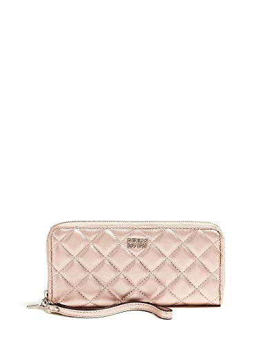 Guess Victoria SLG Large Zip Around Champagne