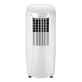 Daitsu 3NDA0086 Aire Acondicionado Portátil APD-9CK, potencia frigorífica 2.270 kcal/h, Nuevo Refrigerante Ecológico R32, Área de Aplicación: 16 m², Clase Energética A