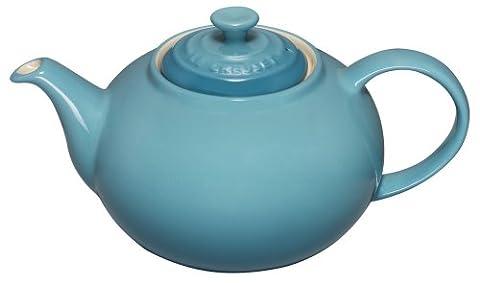 Le Creuset Steinzeug Klassische Teekanne 1,3 L, karibik