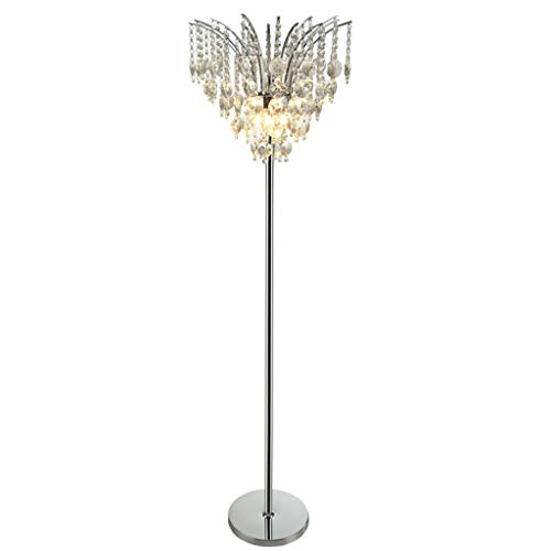 $stehlampe Stehlampe, Kristall Stehlampe, E14 * 3 Lichtquelle Einfache Moderne Wohnzimmer Schlafzimmer Kreative Keramik Lampe Stehlampe -